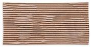 Corrugated Cardboard Beach Towel