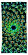 Cosmic Cacti In Spokane Beach Towel