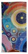 Cosmic Carnival Vl Aka Circles Beach Towel