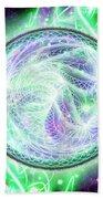 Cosmic Lifestream Beach Towel by Shawn Dall