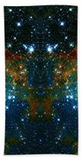 Cosmic Phoenix  Beach Towel