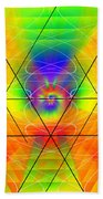 Cosmic Spiral Ascension 01 Beach Towel