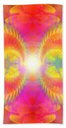 Cosmic Spiral Ascension 02 Beach Towel