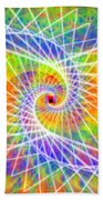 Cosmic Spiral Ascension 03 Beach Towel