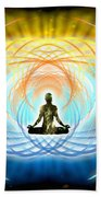Cosmic Spiral Ascension 04 Beach Towel
