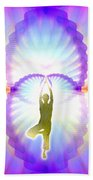 Cosmic Spiral Ascension 07 Beach Towel