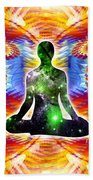 Cosmic Spiral Ascension 10 Beach Towel