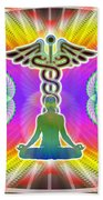 Cosmic Spiral Ascension 21 Beach Towel