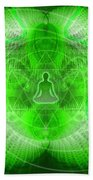 Cosmic Spiral Ascension 24 Beach Towel