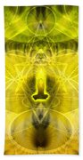 Cosmic Spiral Ascension 26 Beach Towel