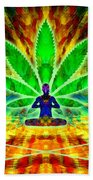 Cosmic Spiral Ascension 34 Beach Towel