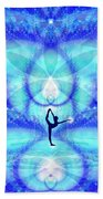 Cosmic Spiral Ascension 65 Beach Towel