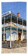 Cosmopolitan Hotel Old Town San Diego Usa Beach Towel
