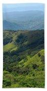 Costa Rica Greens Beach Towel