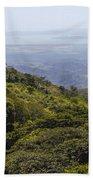 Costa Rica Landscape Beach Towel