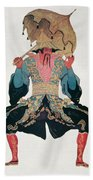 Costume Design For A Chinaman Beach Towel