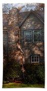 Cottage - Cranford Nj - Autumn Cottage  Beach Towel