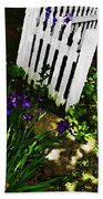 Cottage Entry  Beach Towel