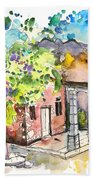 Cottage In Barca De Alva Beach Towel