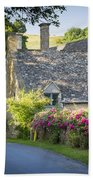 Cottage In The Cotswolds Beach Towel