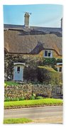 Cottage Of The Cotswolds Beach Towel