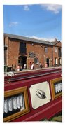 Cottages At Fradley Junction Beach Towel