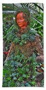 Could Her Name Be Ivy... Buffalo Botanical Gardens Series Beach Towel