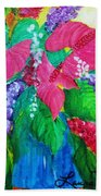 Countrified Exotic Beach Towel