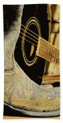 Country Blues Beach Towel