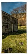 Country Cottage Beach Towel by Adrian Evans