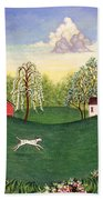 Country Frolic One Beach Towel