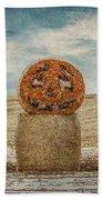 Country Halloween Beach Towel