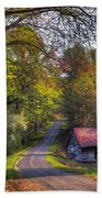 Country Lanes Beach Towel