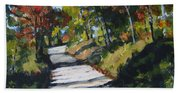 Country Road Two Beach Towel