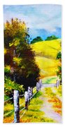 Country Side Beach Towel