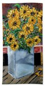 Country Still Life Beach Towel