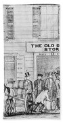 Country Store, 1847 Beach Towel