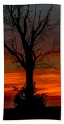 Country Sunsets Beach Towel