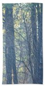Country Woodlands Beach Towel