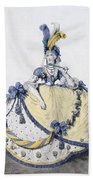 Court Dress, Fig. 106 From The Gallery Beach Towel