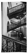 Courthouse Staircases Beach Towel