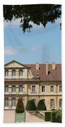 Courtyard Cloister Cluny Beach Towel