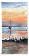 Cove Sunrise Beach Towel