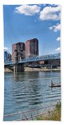Covington Kentucky Beach Towel