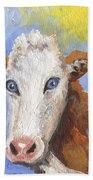 Cow Fantasy Three Beach Towel