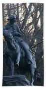 Cowboy 1908 By Frederic Remington Beach Towel