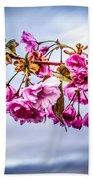 Crab Apple Tree Beach Towel