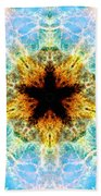 Crab Nebula Iv Beach Towel