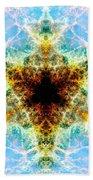 Crab Nebula Vi Beach Towel