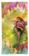 Cradle Your Heart Beach Towel by Aimee Stewart